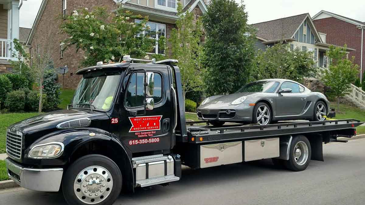 Exotic Car Towing Nashville