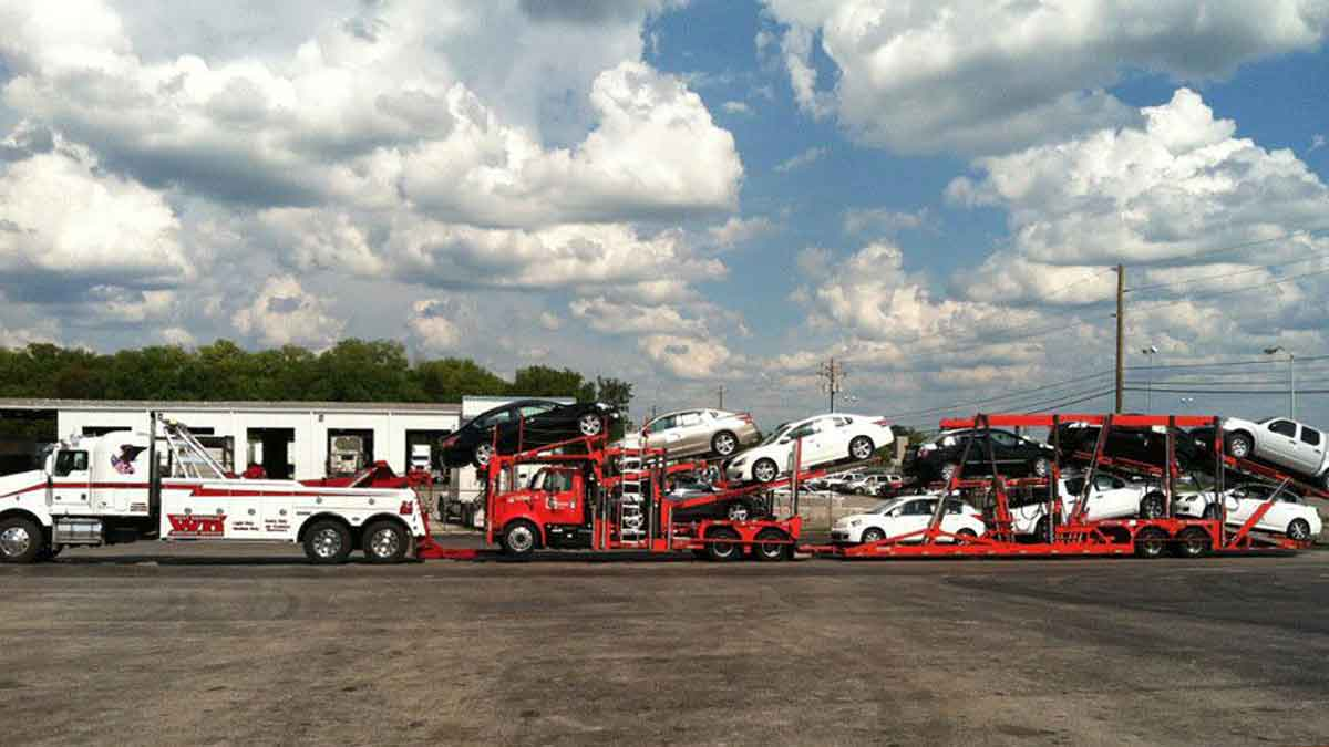 Heavy Towing Central TN