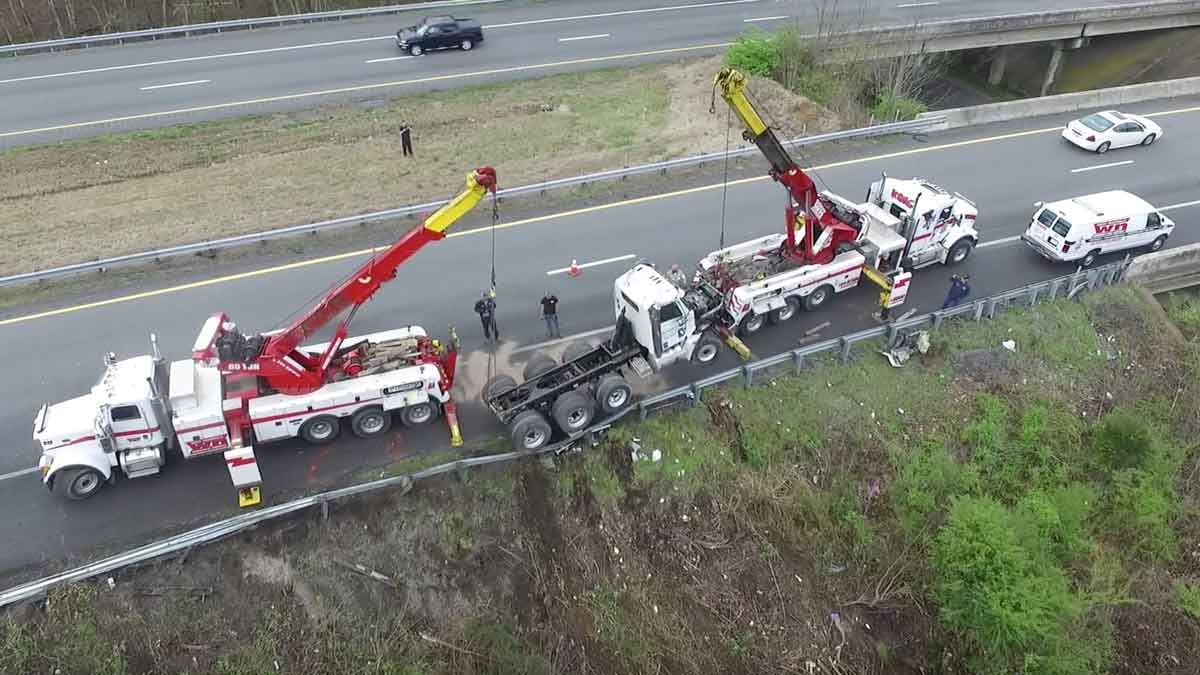 Heavy Truck Recovery Nashville I 24 I 40 I 65 Greater Nashville