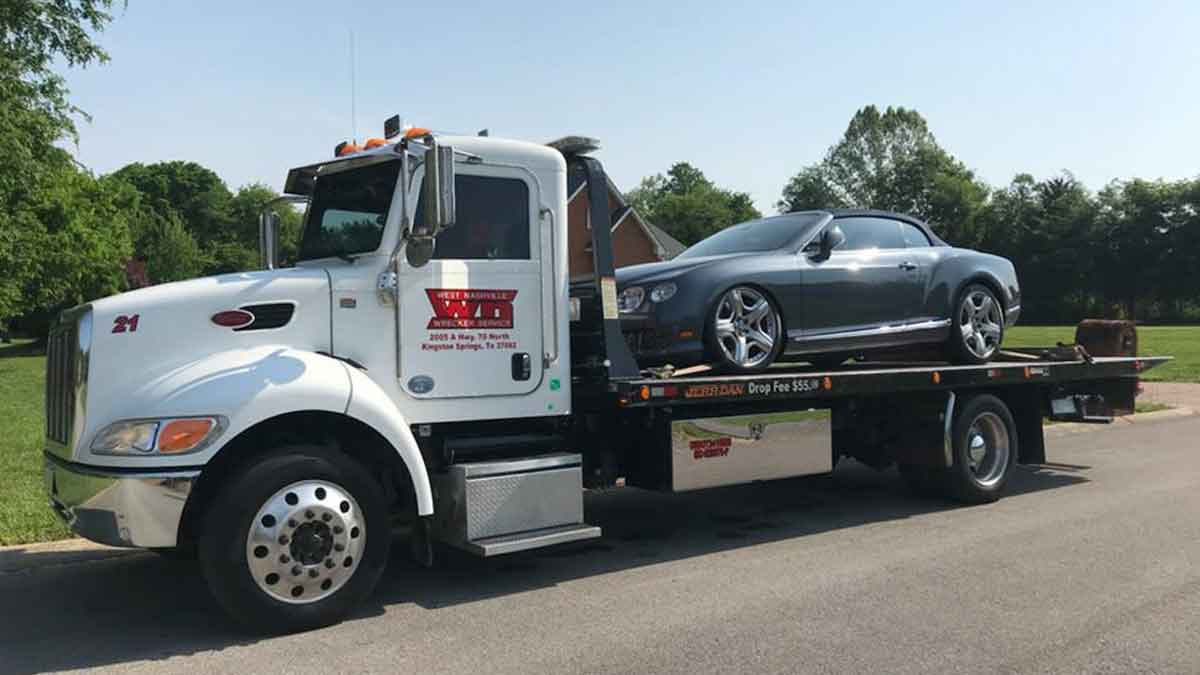Local Towing Service Nashville